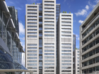 20 Ropemaker Street scoops design-stage BREEAM 'Outstanding'